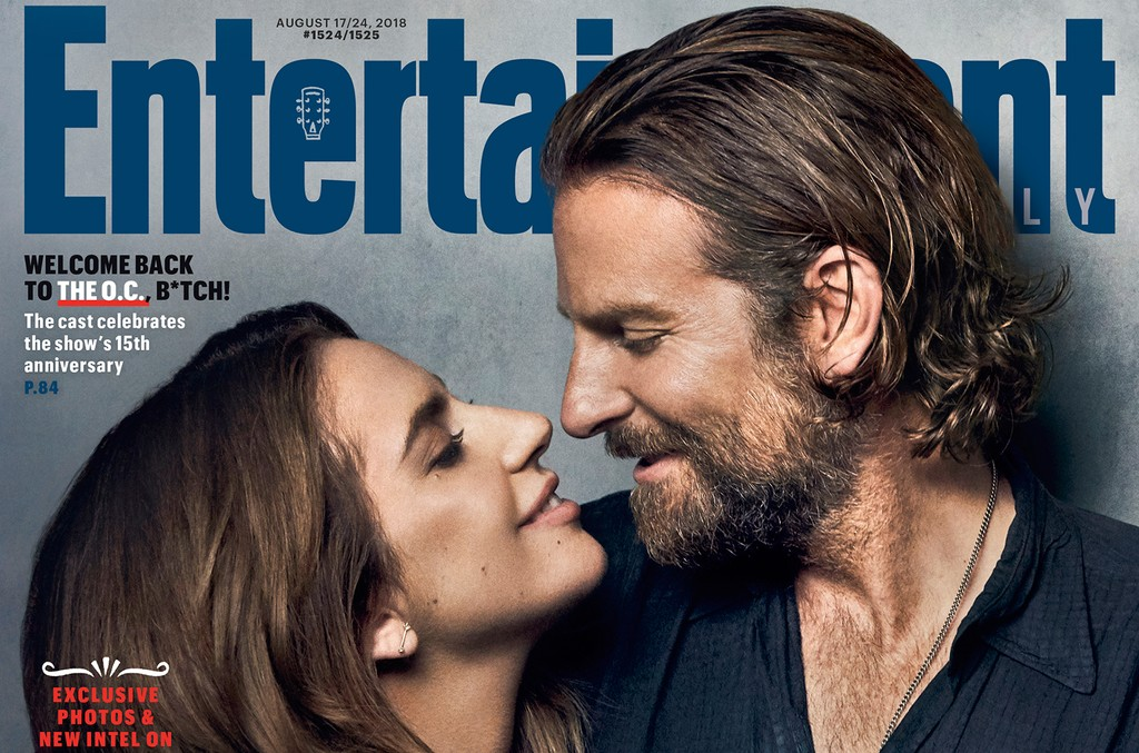 Lady Gaga And Bradley Cooper Cover Entertainment Weekly Talk A Star Is Born Remake In Joint Interview Billboard