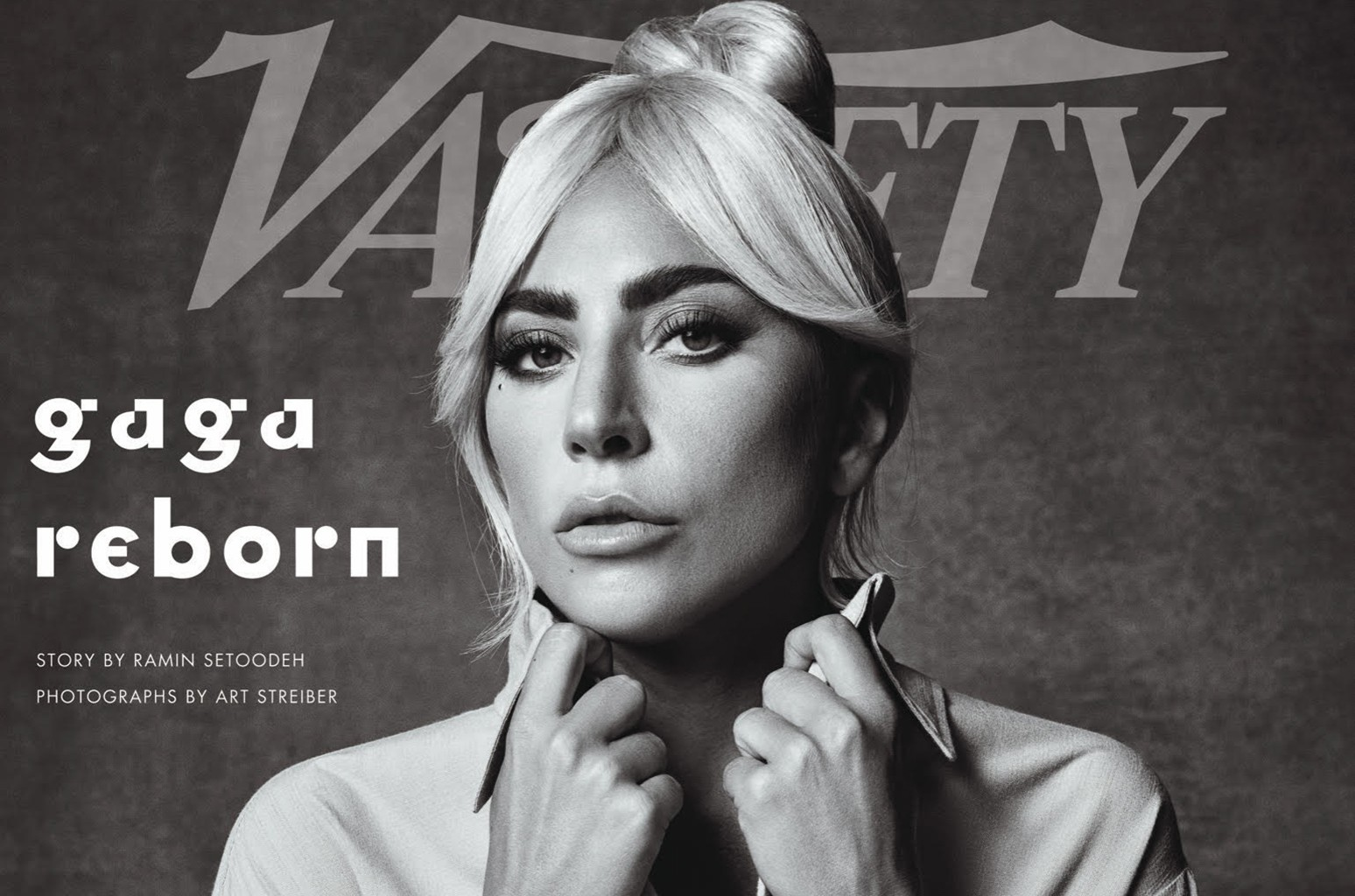 Lady Gaga on the cover of Variety