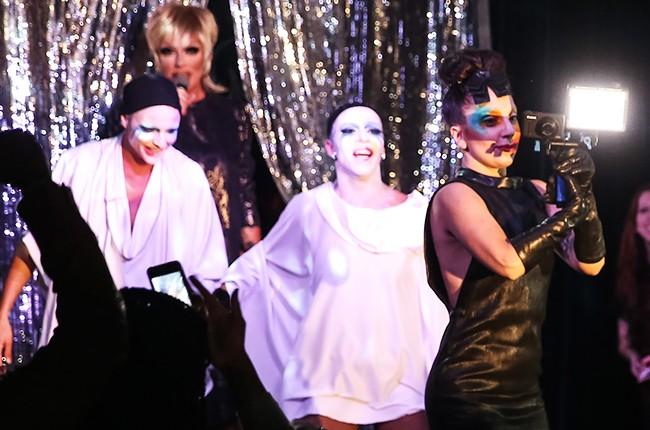 Lady Gaga Drag Queens with Lady Gaga