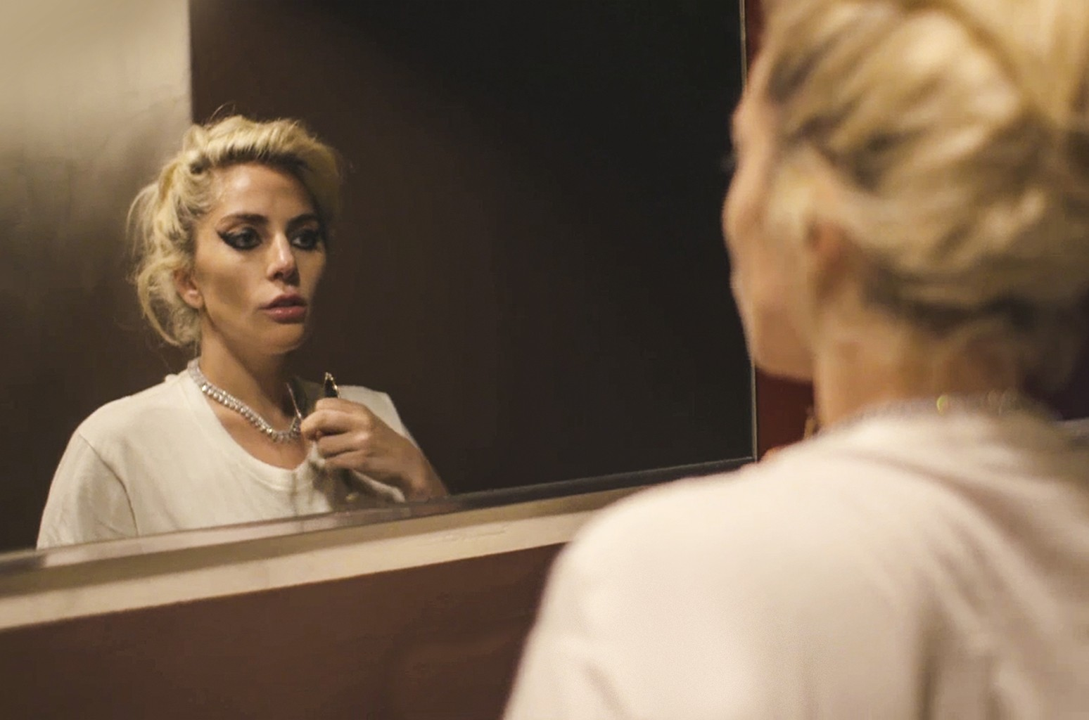 Lady Gaga in the Netflix original documentary Gaga: Five Foot Two.