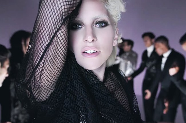 """Lady Gaga covers """"I Want Your Love"""" for Tom Ford."""