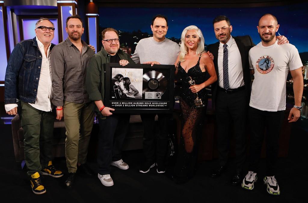 Lady Gaga Jimmy Kimmel