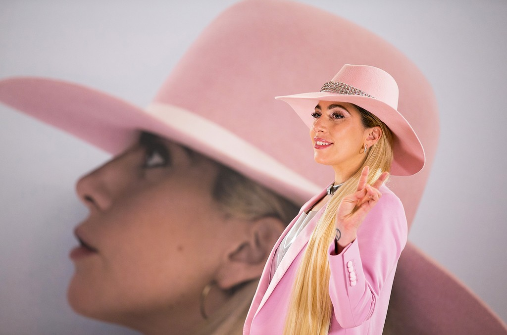 """Lady Gaga attends a press conference to promote """"Joanne"""" on Nov. 2, 2016 in Tokyo."""