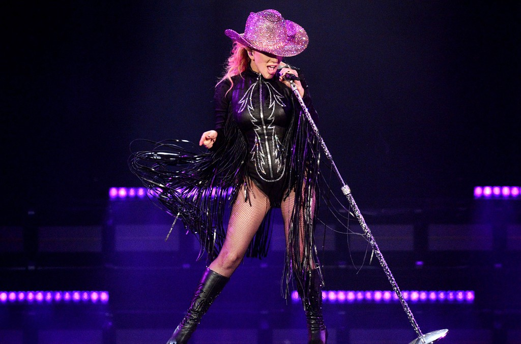 Lady Gaga performs during the Joanne World Tour