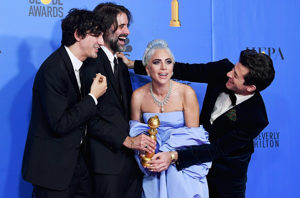 Mark Ronson, Lady Gaga, Andrew Wyatt and Anthony Rossomando