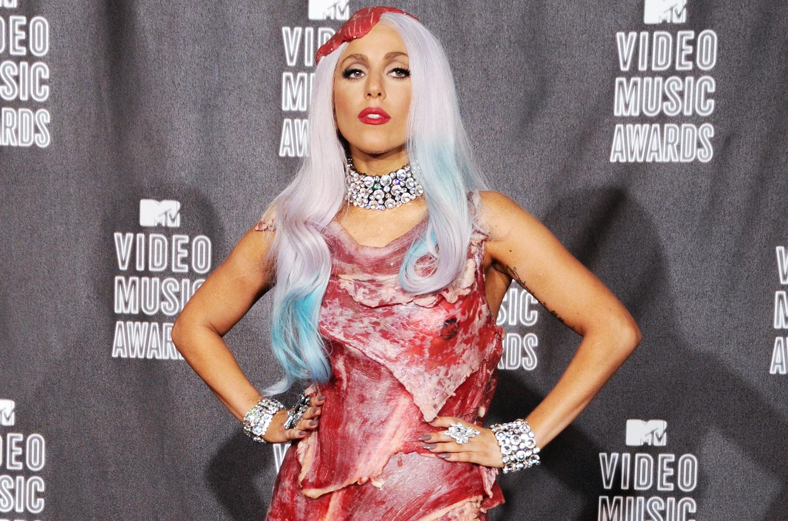 Lady Gaga at the 2010 MTV Video Music Awards