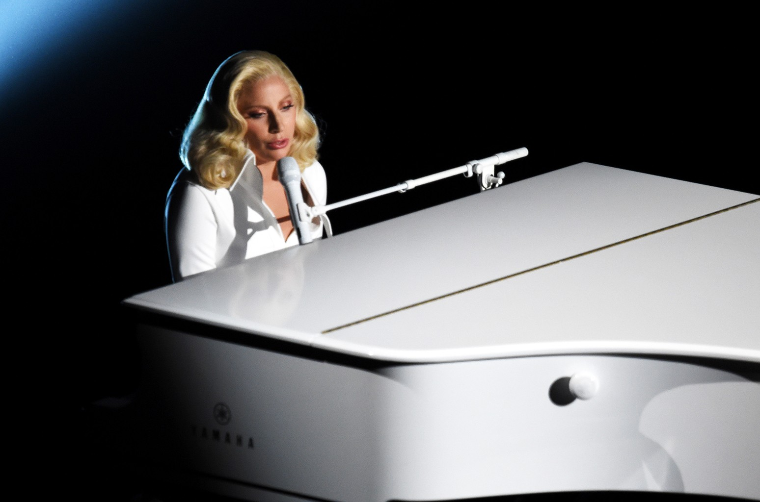 Lady Gaga performs during the 88th Annual Academy Awards