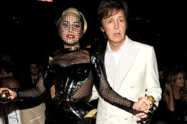 Lady Gaga and Paul McCartney