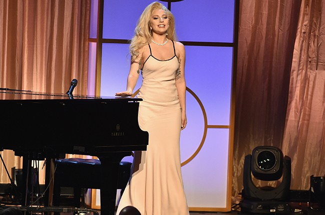 Lady Gaga performs at the 27th Annual Producers Guild Of America Awards