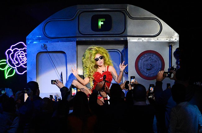 Lady Gaga performs live at Roseland Ballroom