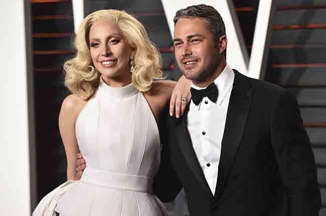 Lady Gaga and Taylor Kinney oscars 2016