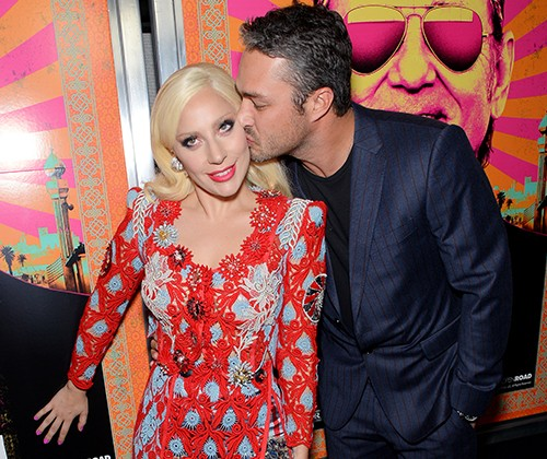 """Lady Gaga and Taylor Kinney attend the """"Rock The Kasbah"""" New York premiere"""