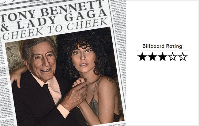 Lady Gaga & Tony Bennett Cheek to Cheek Album Review