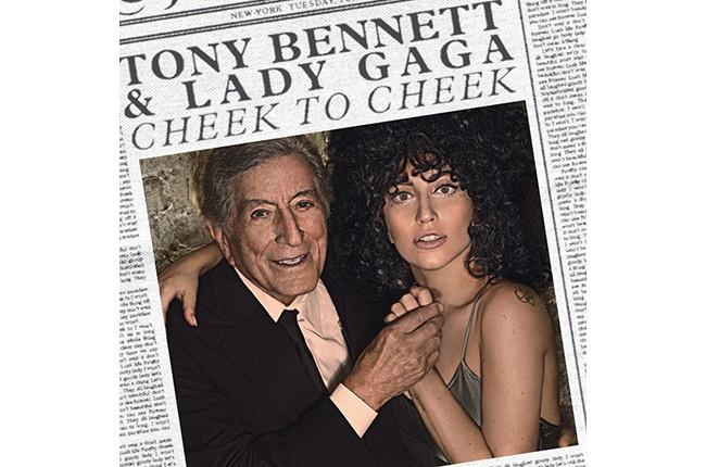 "Tony Bennett & Lady Gaga's ""Cheek to Cheek"" Album Cover"