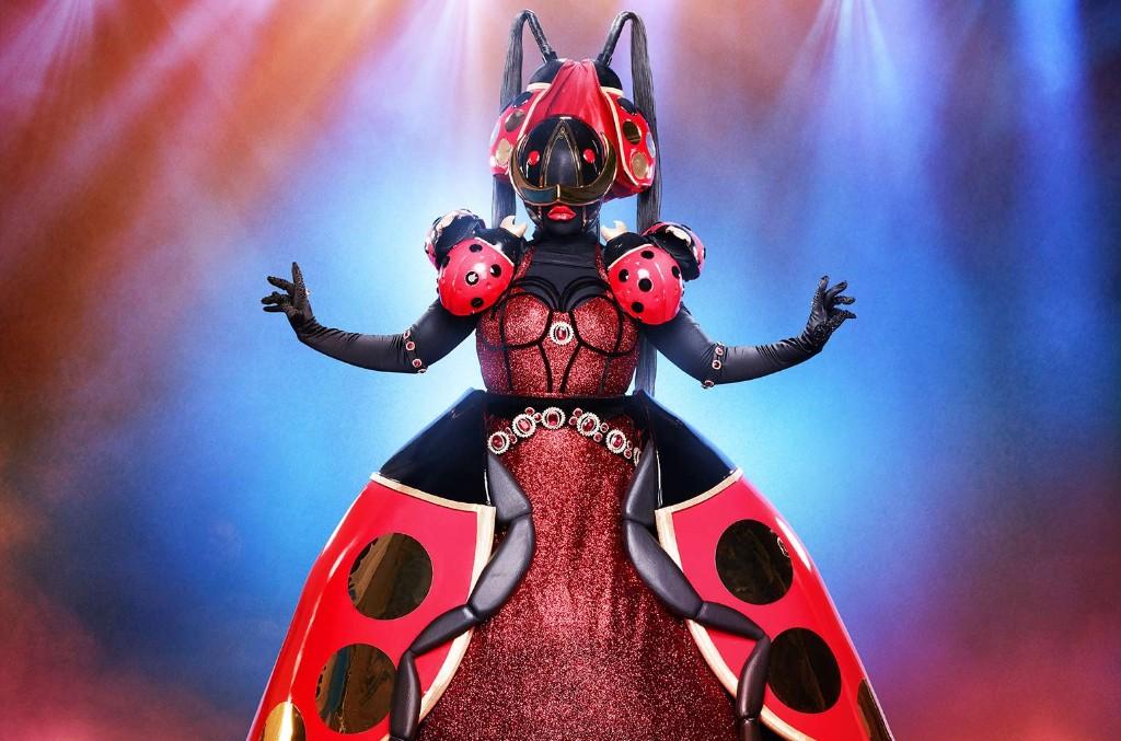 The ladybug on The Masked Singer.