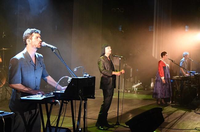 Laibach Band 2015