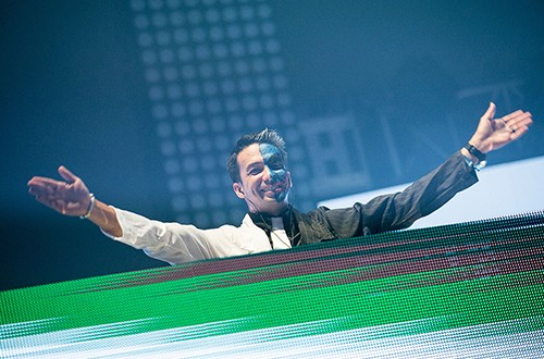 Laidback Luke performs at Insomniac's 5th Annual Escape Halloween Festival