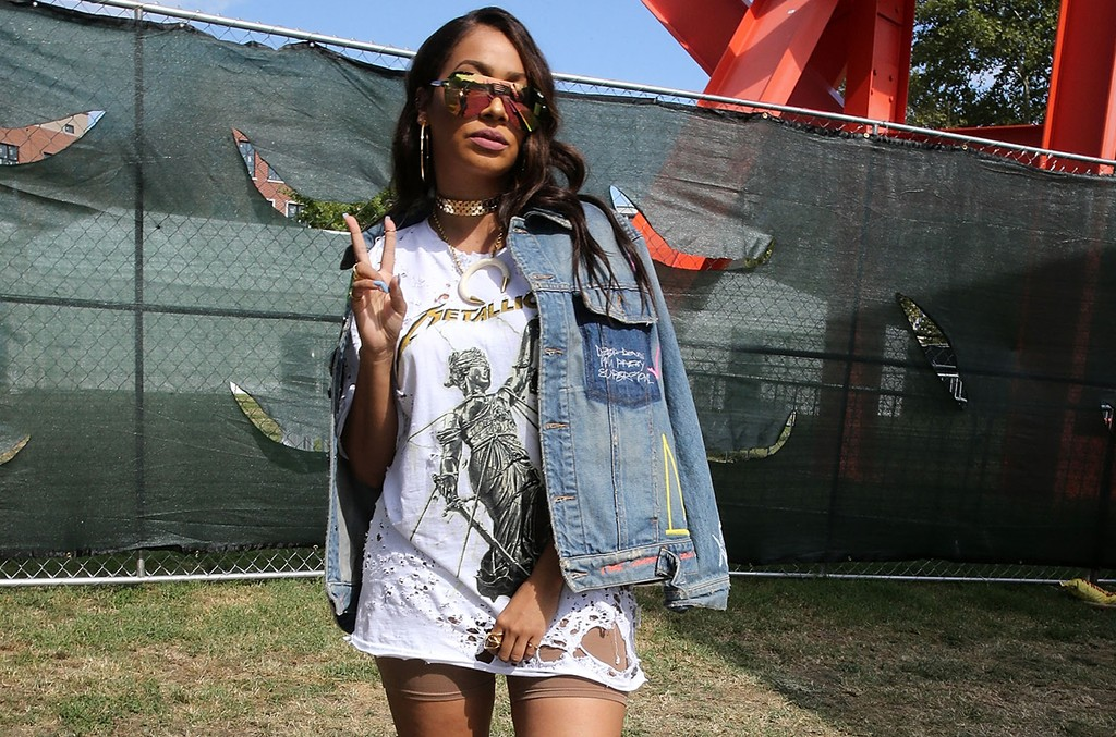 Lala Anthony attends 2016 Made In America Festival