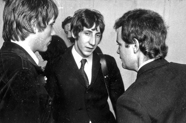 "Chris Stamp, Pete Townshend and Kit Lambert, in ""Lambert + Stamp"""