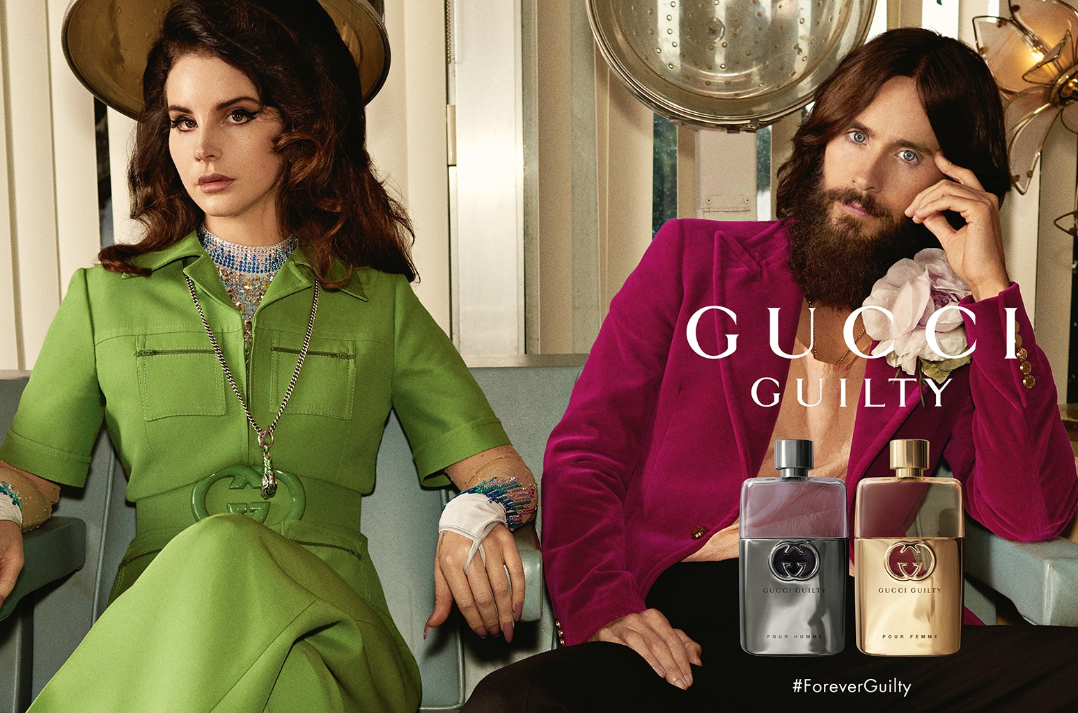 Lana Del Rey Stars In Gucci Guilty Campaign With Jared Leto Courtney Love Billboard