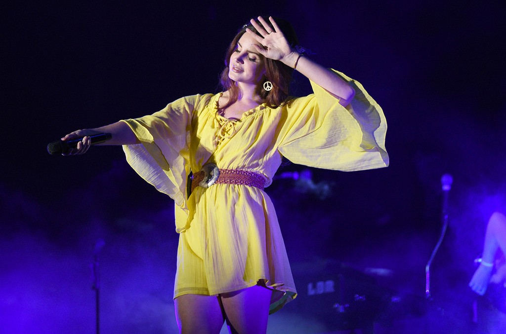 Lana Del Rey performs during the 2016 Outside Lands Music And Arts Festival