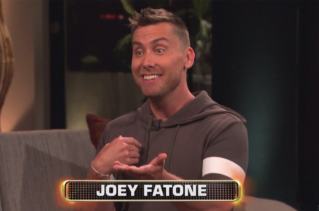 Lance Bass on Celebrity Name Game.