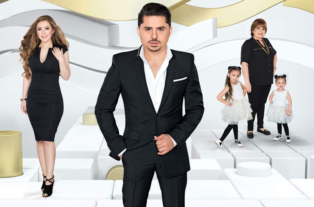 Larry Hernandez and family.