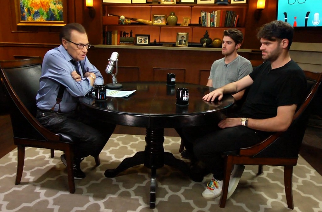 The Chainsmokers on Larry King Now