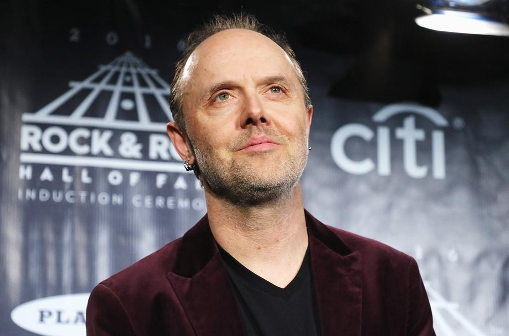 Lars Ulrich in 2016