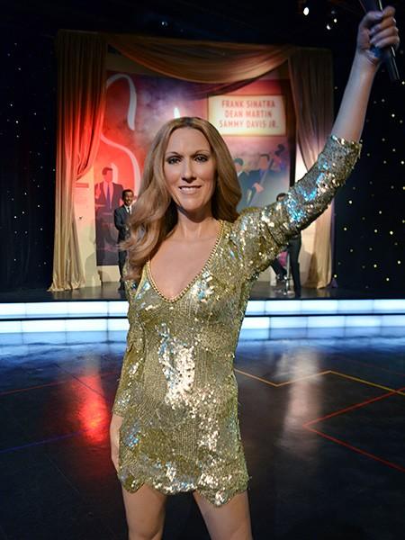 Celine Dion at Madame Tussauds Las Vegas