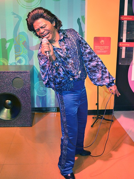 James Brown at Madame Tussauds Las Vegas