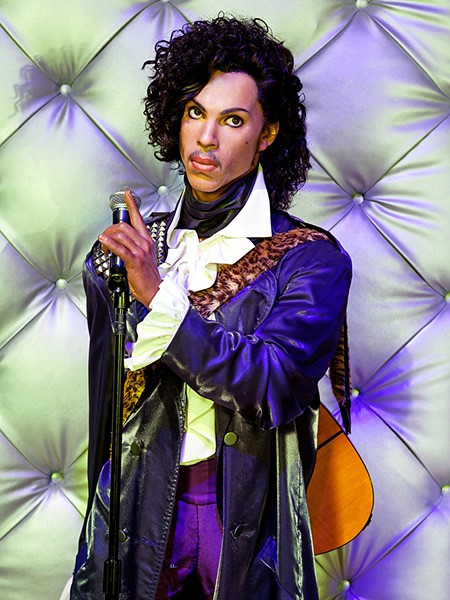 Prince at Madame Tussauds Las Vegas
