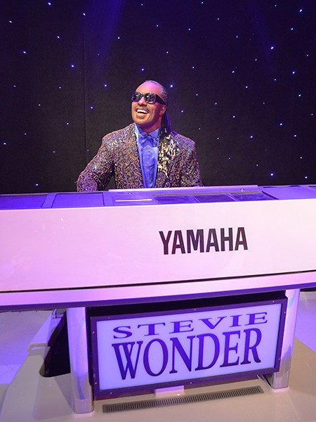 Stevie Wonder at Madame Tussauds Las Vegas