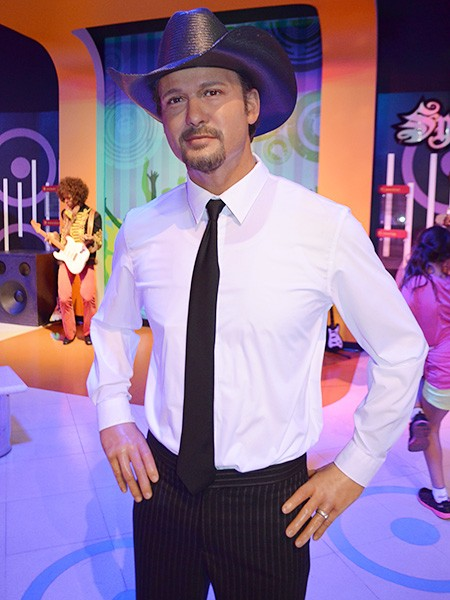 Tim McGraw at Madame Tussauds Las Vegas