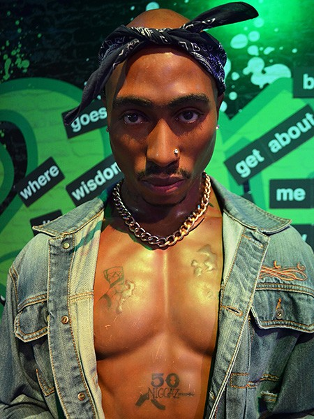 Tupac at Madame Tussauds Las Vegas