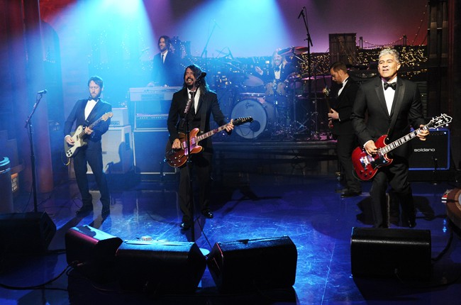 Last Late Night With David Letterman May 20 2015 Foo Fighters