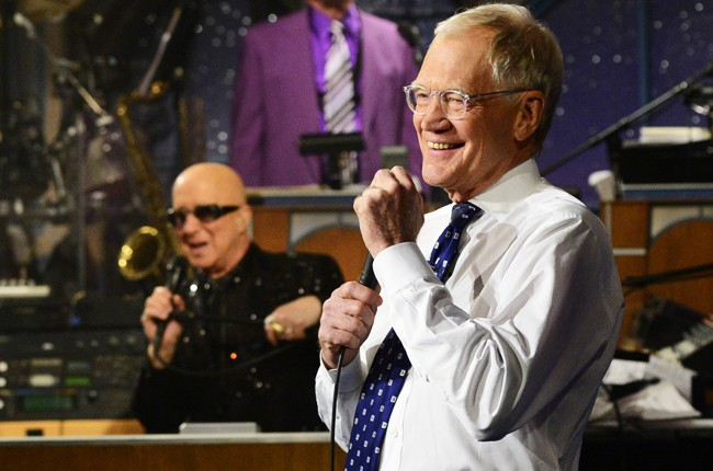 Last Late Night With David Letterman May 20 2015 Paul Shaffer