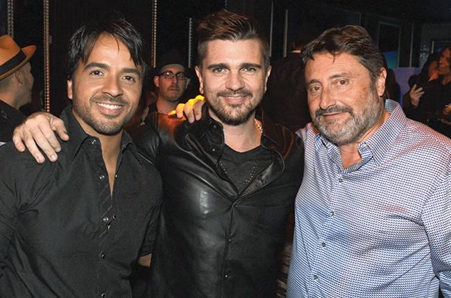 Luis Fonsi, Juanes and Jesus Lopez