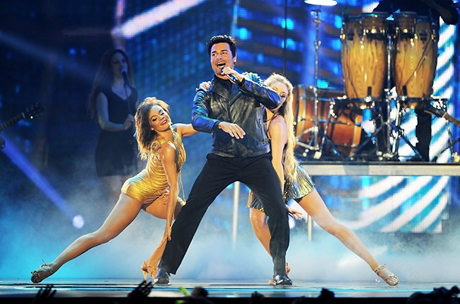 Chayanne performs onstage during the 2014 Billboard Latin Music Awards