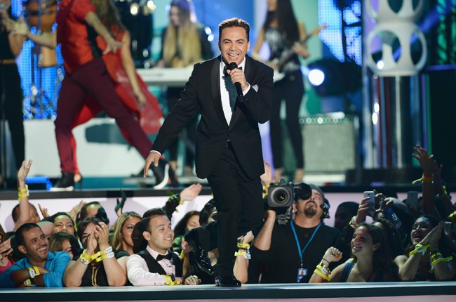 Crisitan Castro performs onstage during the 2014 Billboard Latin Music Awards
