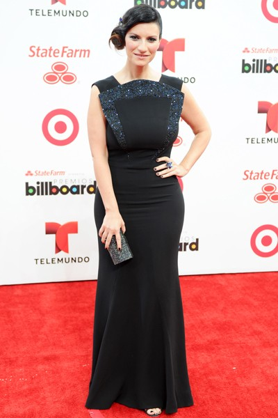 Laura Pausini attends the 2014 Billboard Latin Music Awards