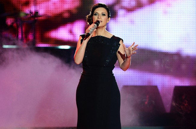 Laura Pausini performs onstage during the 2014 Billboard Latin Music Awards
