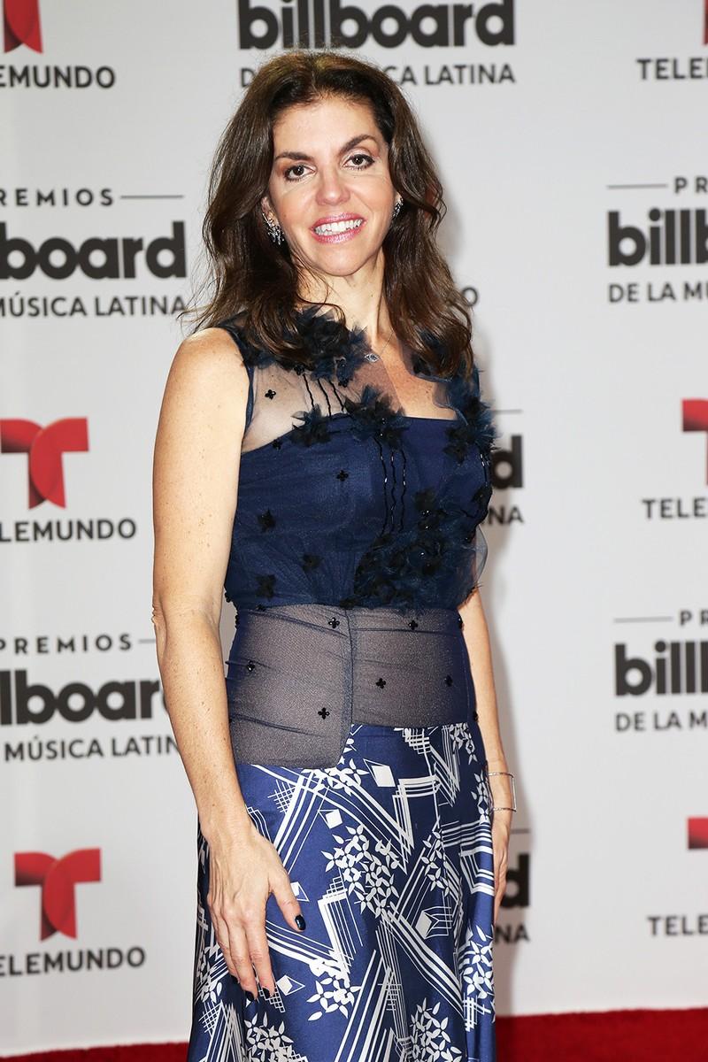 Leila Cobo arrives at the 2016 Billboard Latin Music Awards