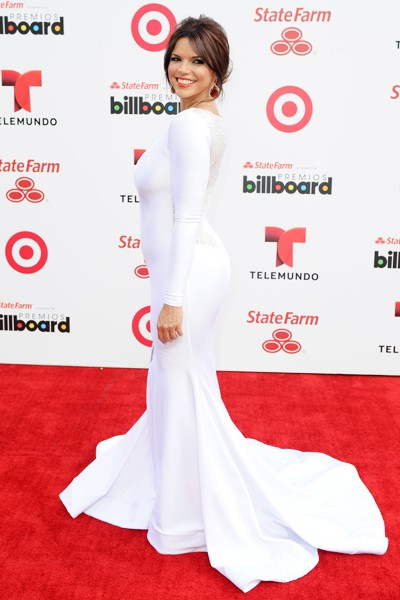 Rashel Diaz attends the 2014 Billboard Latin Music Awards