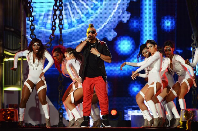 Sean Paul performs onstage during the 2014 Billboard Latin Music Awards