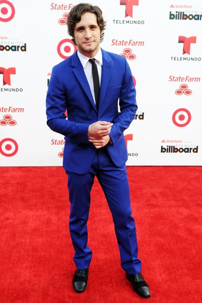 Diego Boneta attends the 2014 Billboard Latin Music Awards