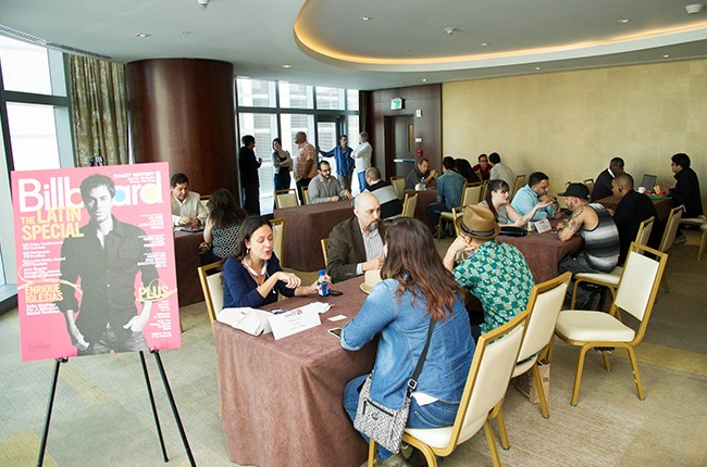 Meet the Executives: One on One Sessions at the Billboard 2014 Latin Music Conference and Awards