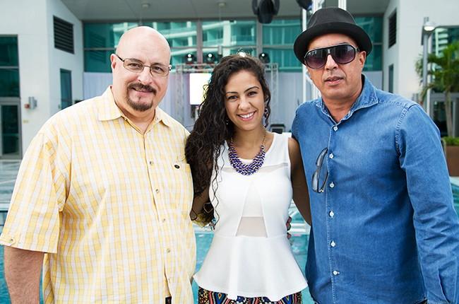 DJ Cubanita, Chantel Collado, Berma Jam at the Mas Y Mas Musica Showcase