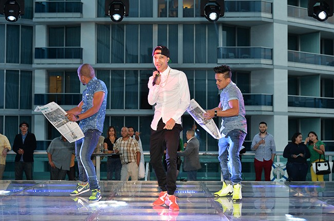 Renzo at the Billboard 2014 Latin Music Conference and Awards
