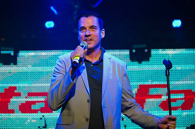 Tommy Page at the Pandora Discovery Den Noche de Musica Latina